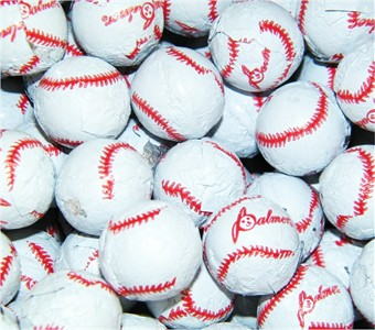 Baseball Chocolate Balls 5LB