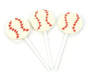 Baseball Lollipops 12ct