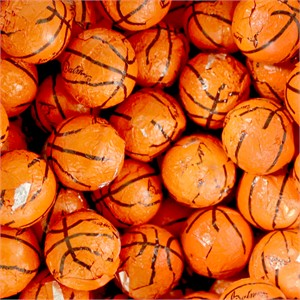 Basketball Chocolates 5LB (DISCONTINUED)