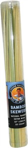 Bamboo Skewers Natural Bamboo Extra Wide Best of Barbecue (Sold Out)