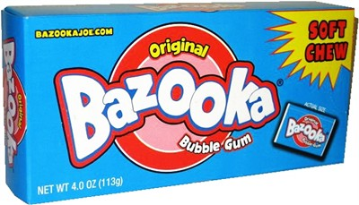 Bazooka Gum Party Box (SOLD OUT)