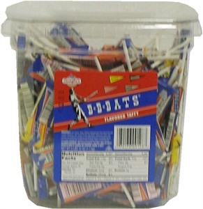 BB Bats Flavored Taffy 144ct Tub (DISCONTINUED)