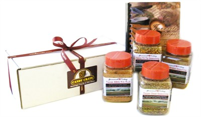 BBQ Lovers Seasoning Assortment with FREE Cook Book (sold out)