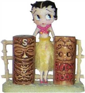 BETTY BOOP SALT and PEPPER (SOLD OUT)