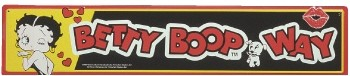 Betty Boop Street Sign (sold out)