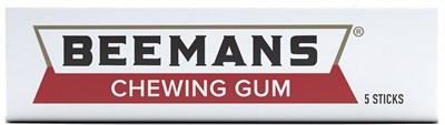 Beeman's Gum 20ct  (SOLD OUT )