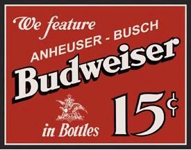 Beer and Liquor Tin Signs