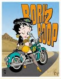 BETTY BOOP - BORN 2 BOOP (SOLD OUT)