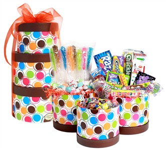 Birthday Candy Gift Tower