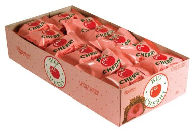 Big Cherry Candy Bars 24ct