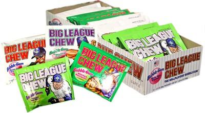 Big League Chew Bubblegum - Assorted Flavors 12ct.