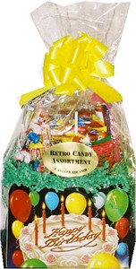 Birthday Cake Candy Gift Basket (DISCONTINUED)