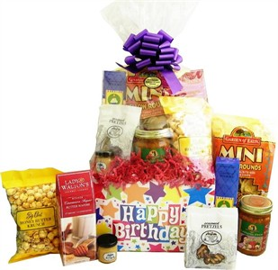 Deluxe Birthday Snack Gift Basket (Sold Out)