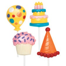 Birthday Party Large Lollipop Mold (Sold Out)