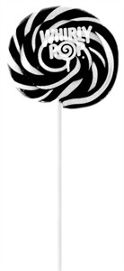 Black & White Whirly Pop 1.5oz - 3 inch 60ct  (sold out)