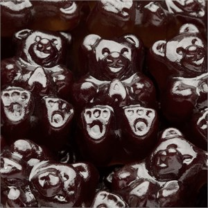 Gummi Bears - Black Cherry 5LB
