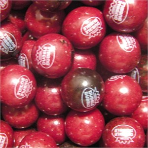 Black Cherry Dubble Bubble 1-Inch Gumballs 5LB