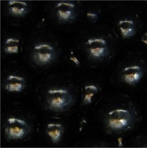 Black Bulk Gumballs 1-Inch Large 5LB