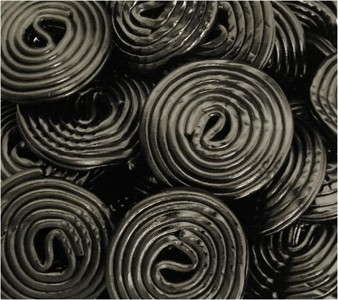Black Licorice Wheels 5LB