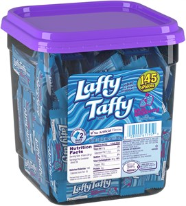 Laffy Taffy 145ct. Tub - Blue Raspberry