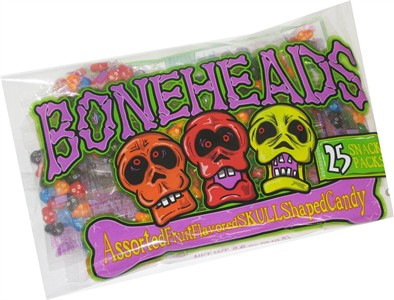 Boneheads Assorted Fruit Flavored Skulls (DISCONTINUED)