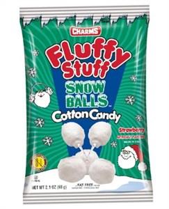 Fluffy Stuff Snowballs Cotton Candy