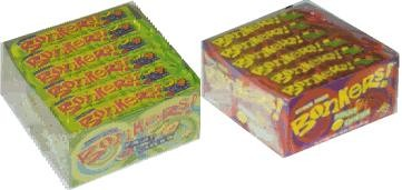 BONKERS FRUIT CHEWS  (DISCONTINUED)