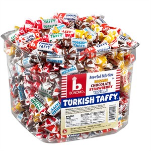 Bonomo Turkish Taffy Tub 216ct. (coming soon)
