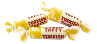 Bonomos Turkish Taffy Bulk - Banana 1LB