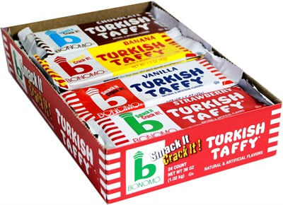 Bonomos Turkish Taffy - Assorted Variety Pack 24ct.