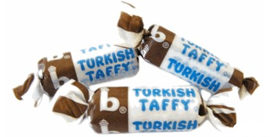 Bonomos Turkish Taffy Bulk - Chocolate 1LB