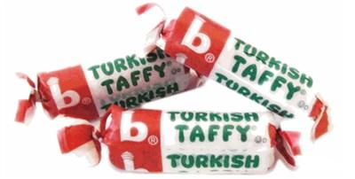 Bonomos Turkish Taffy Bulk - Strawberry 1LB