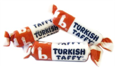Bonomo Turkish Taffy Bulk - Vanilla 5LB