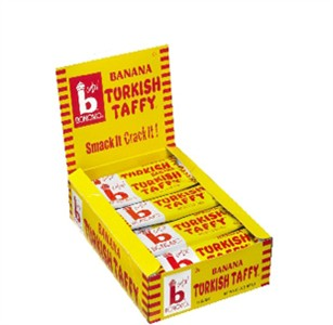 Bonomo Turkish Taffy - Banana 24ct.