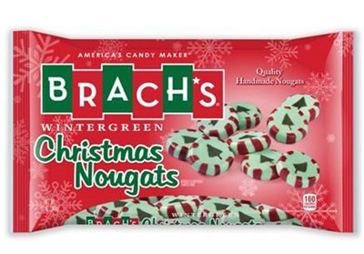 Brach's Christmas Wintergreen Nougats 12oz