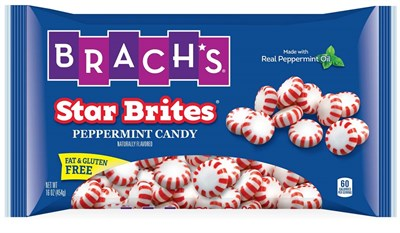 Brach's Star Brites Peppermint Starlight Mints 1lb.