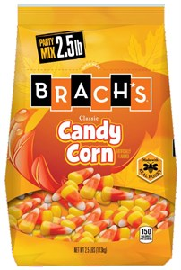 Brach's Candy Corn Stand-Up Bag 2.5LB