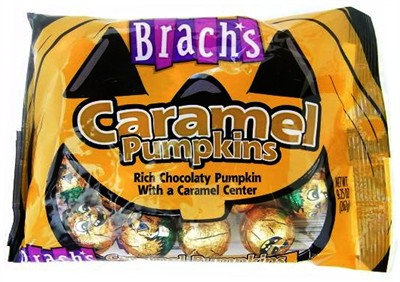 Brach's Chocolate Caramel Pumpkins 9.25oz. (DISCONTINUED)