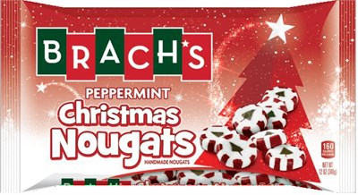 Brach's Peppermint Christmas Nougats 12oz.