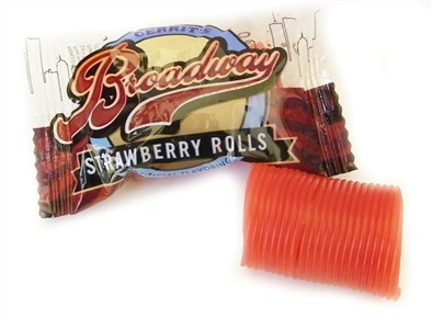 Broadway Strawberry Ribbon Rolls 5LB (Discontinued)