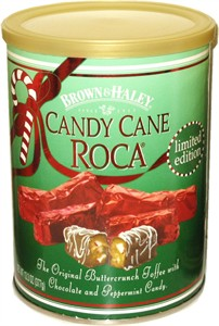 Brown & Haley Candy Cane Roca 10oz (Sold Out)