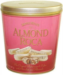 Brown & Haley Large Almond Roca Collectible Tin 32oz. (Sold Out)