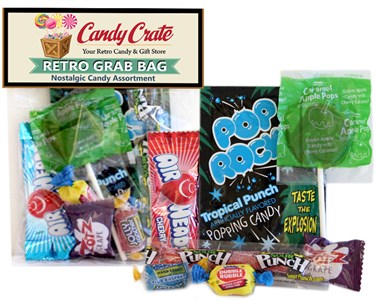 Retro Party Candy Grab Bag Favor