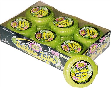 Bubble Gum Tape Sour Apple 12ct (DISCONTINUED)
