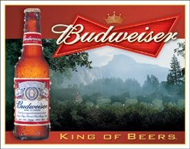 Budweiser - King of Beers (Sold Out)