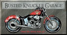 Busted Knuckle - Bike Sign (SOLD OUT)