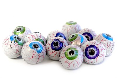 Creepy Peepers Peanut Butter Chocolate Eyeballs 5LB