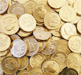 Chocolate Money Coins 1lb