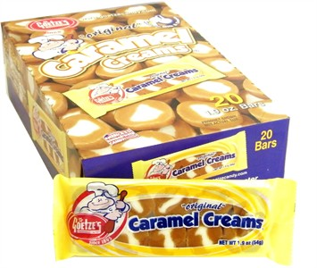Goetze's Original Caramel Cream Bars 20ct.