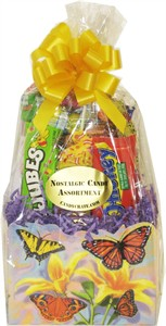 Butterfly Retro Candy Basket (SOLD OUT)